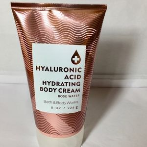 ROSE WATER  Hyaluronic Acid Hydrating Body Cream